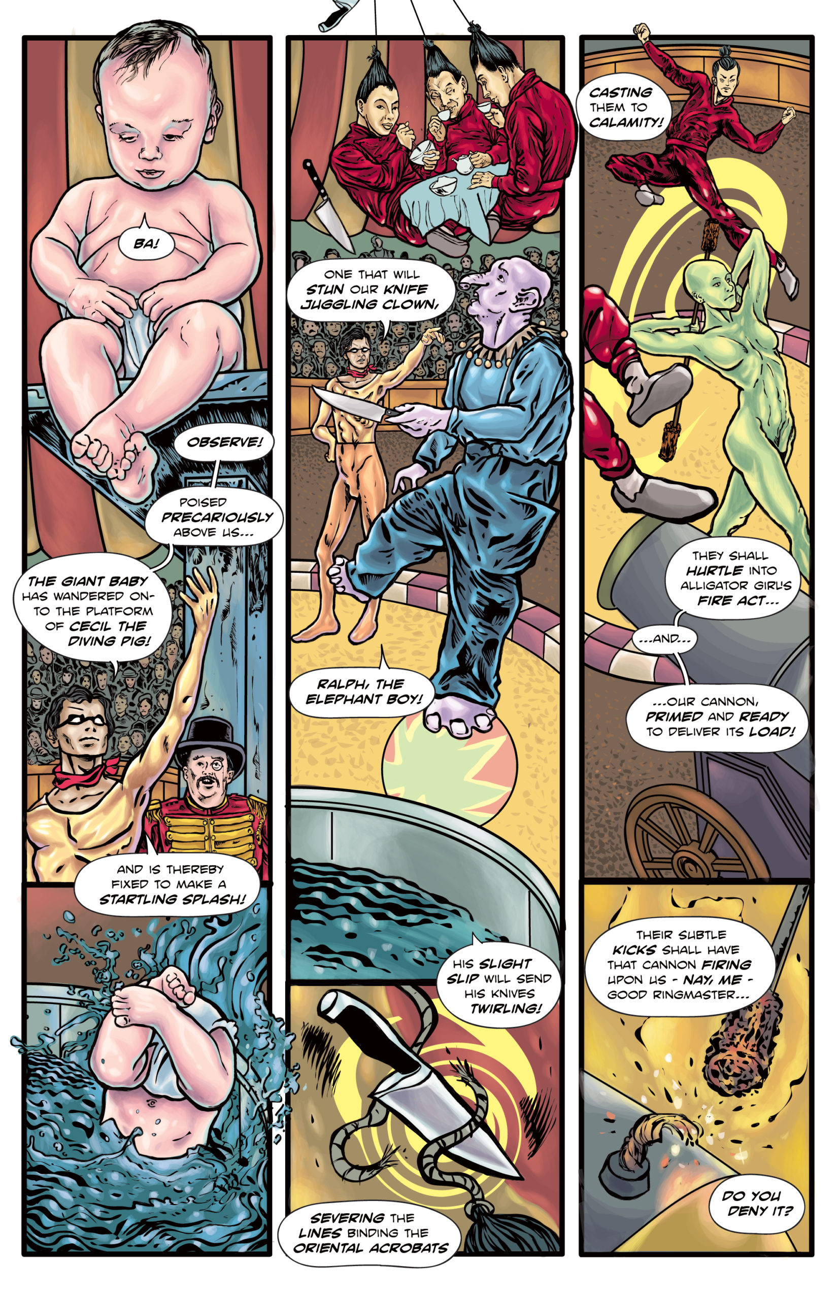 The Enchanted Dagger #5 – Page 12