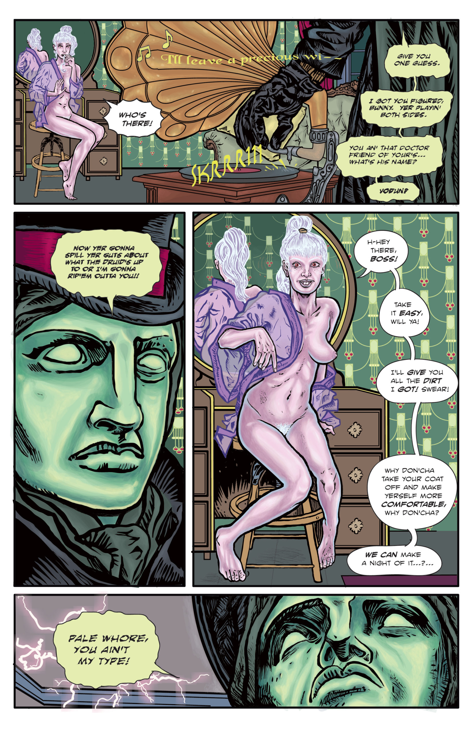The Enchanted Dagger #5 – Page 17