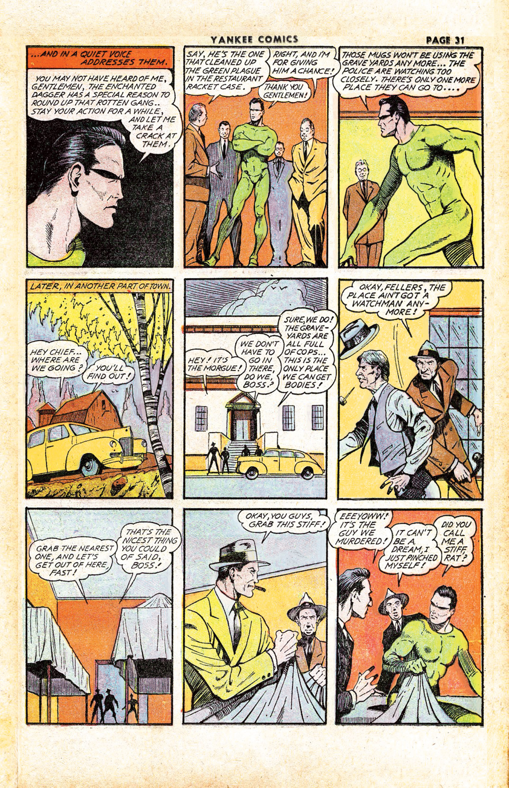 The Enchanted Dagger #5 – Page 23 (Classic Edag #3)