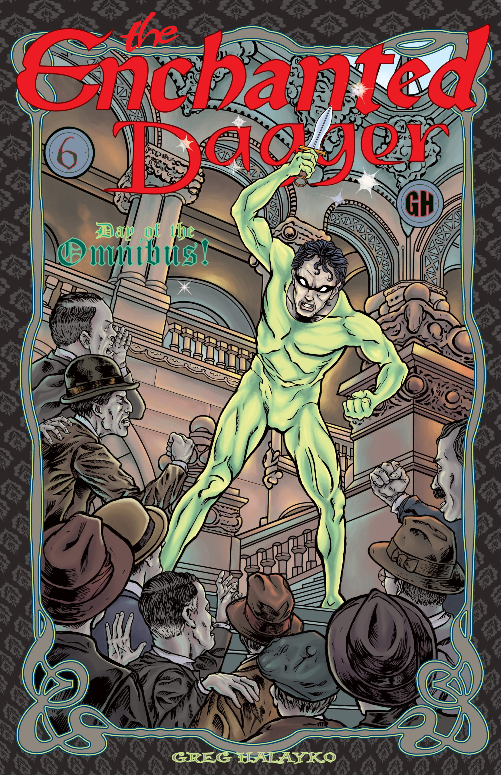 The Enchanted Dagger #6 – Cover