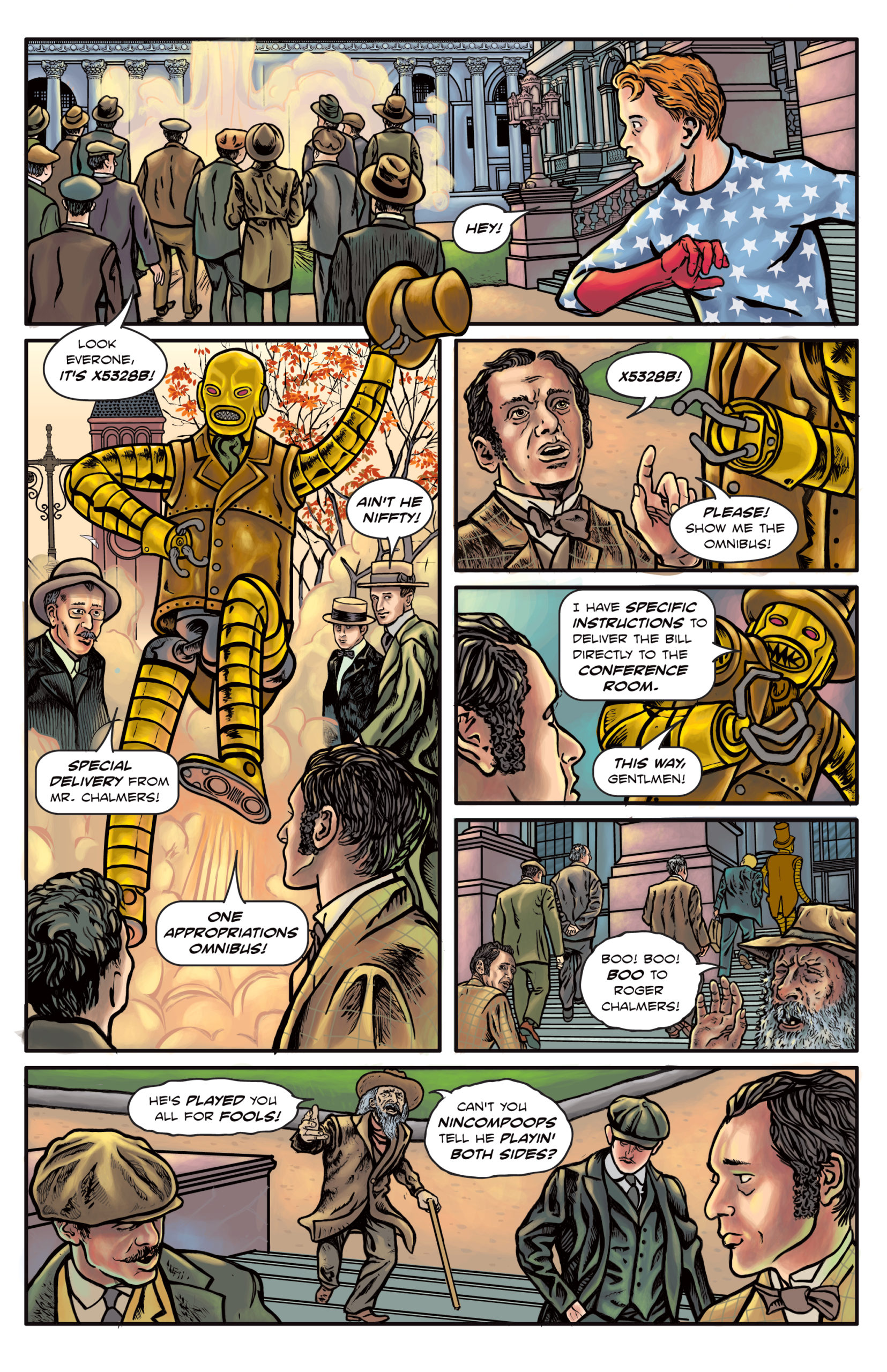 The Enchanted Dagger #6 – Page 4