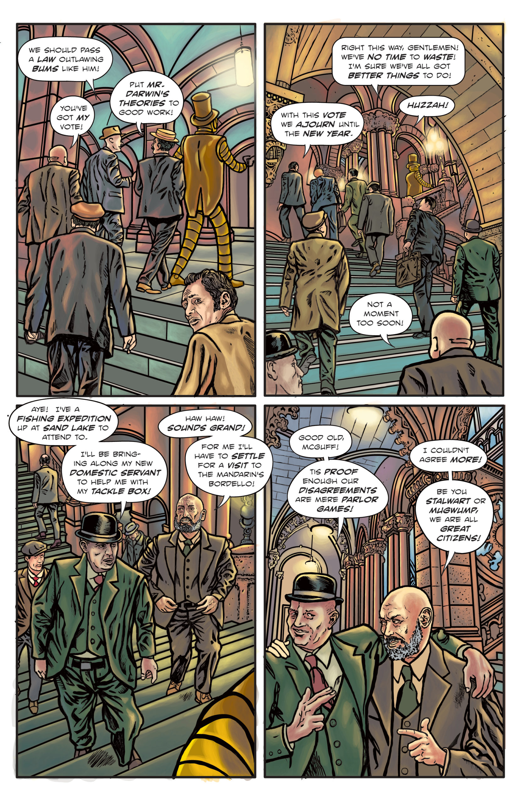 The Enchanted Dagger #6 – Page 5