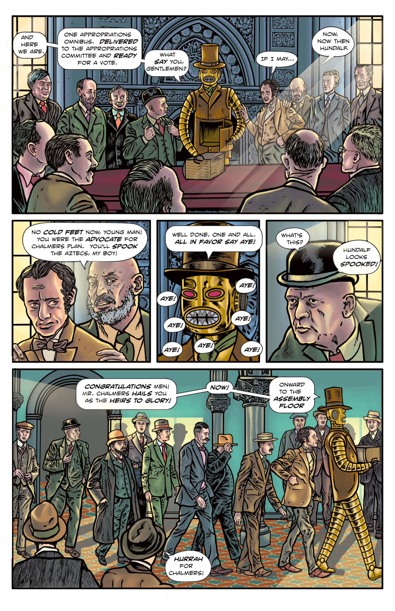 The Enchanted Dagger #6 – Page 6