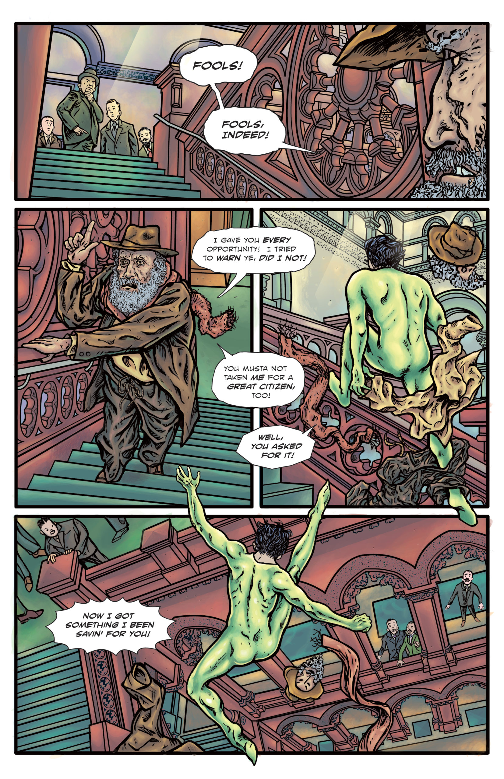 The Enchanted Dagger #6 – Page 9