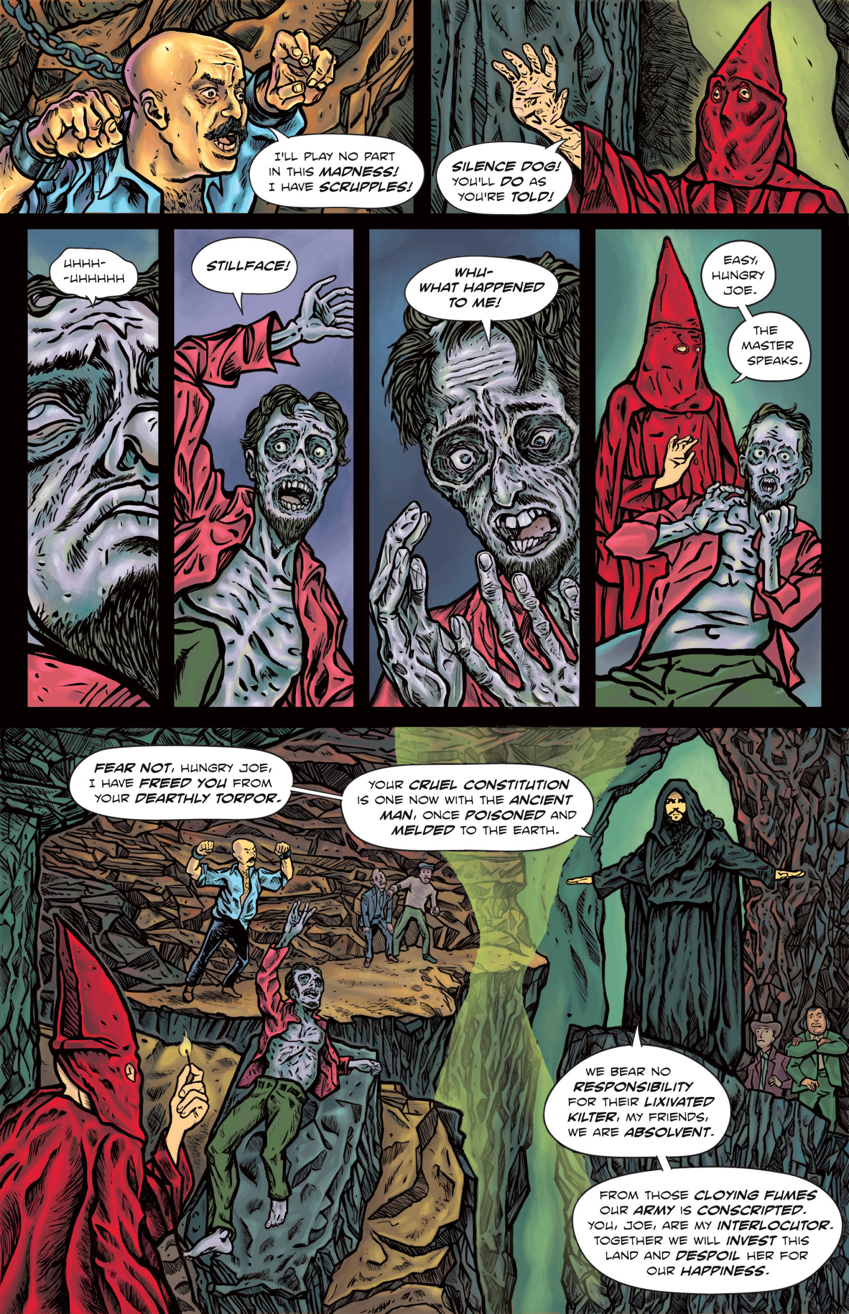 The Enchanted Dagger #6 – Page 13(/20?)