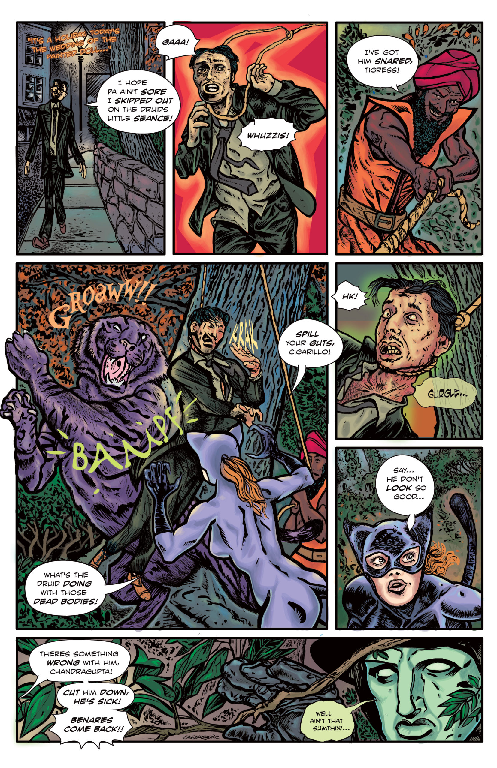The Enchanted Dagger #6 – Page 16/23