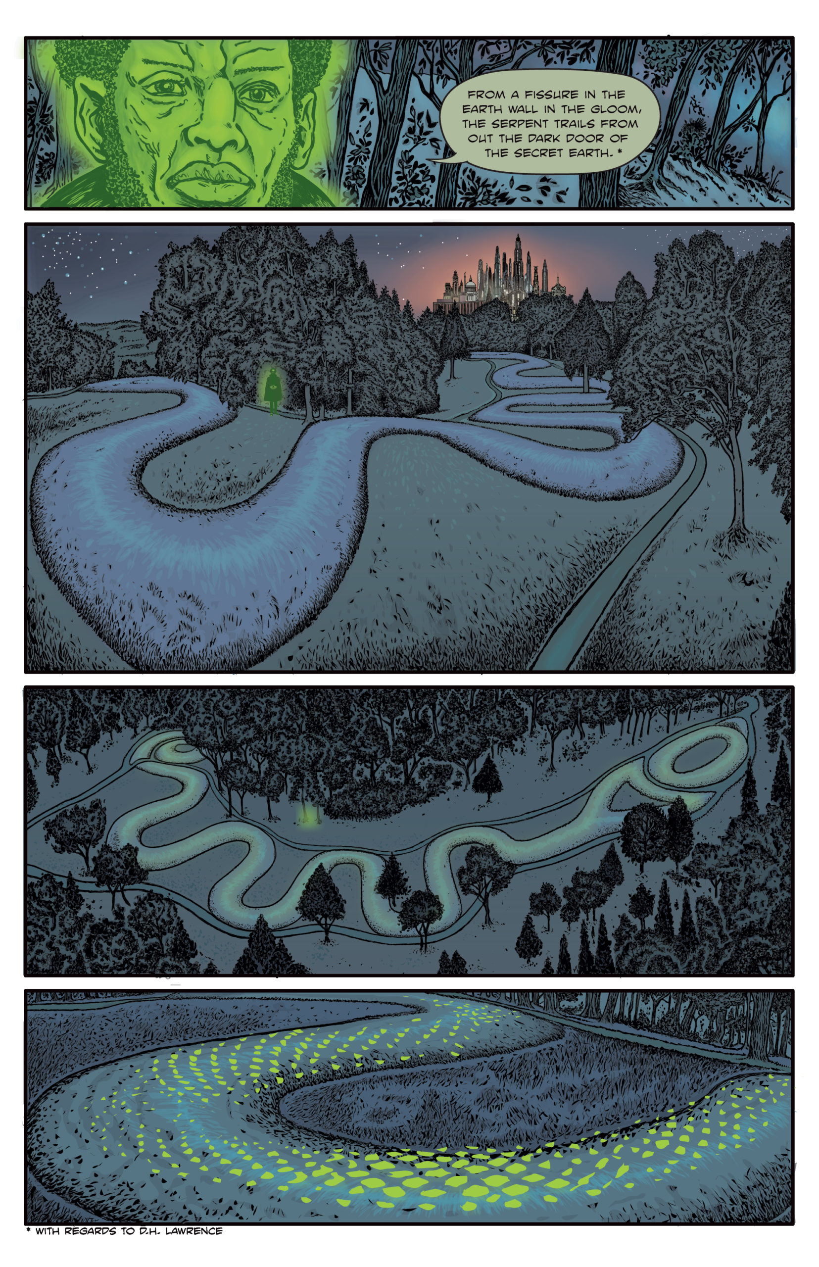 The Enchanted Dagger #6 – Page 17/24