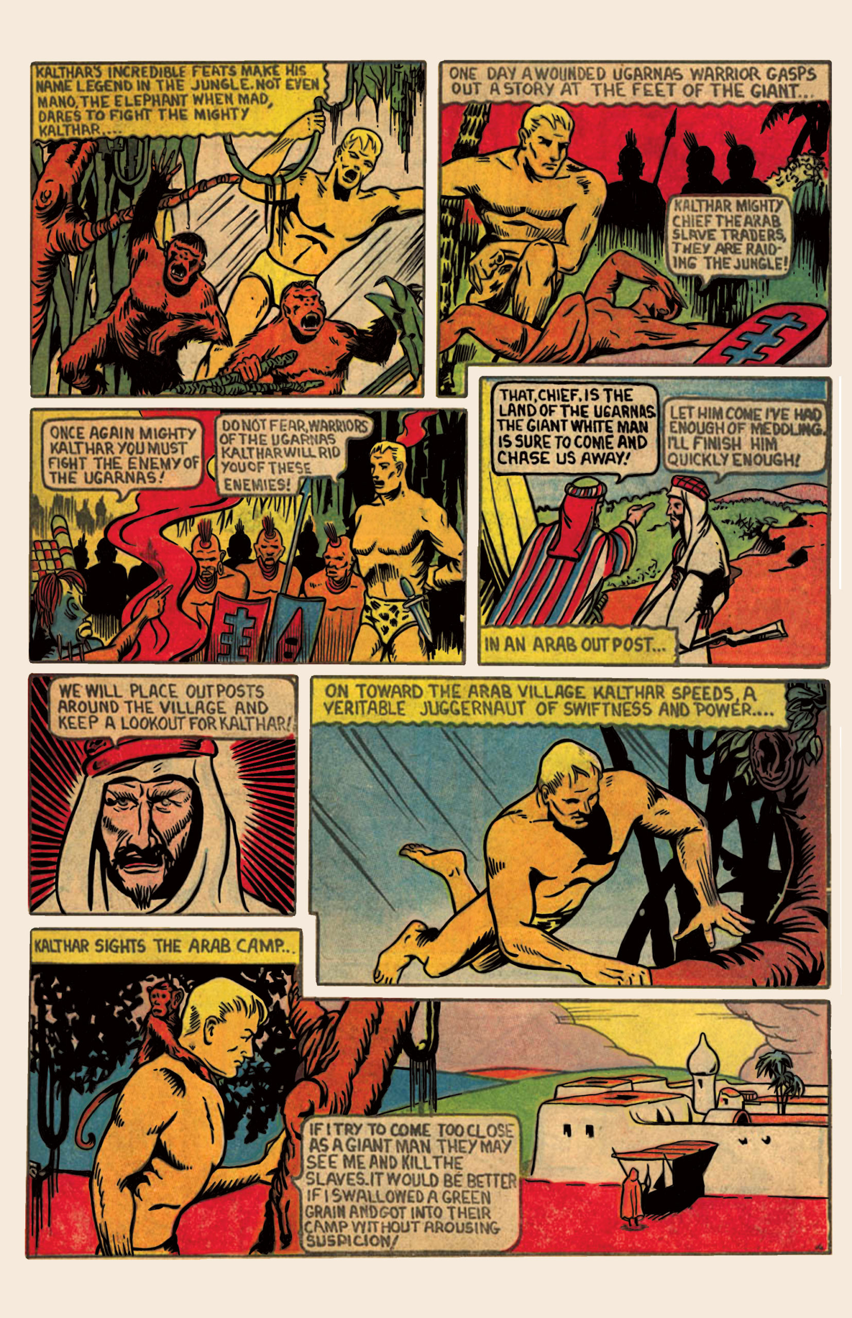 Kalthar, Giant Man/King of the Jungle – Page 2
